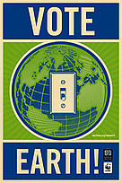 Earth Hour: Your Light Switch is Your Vote..  	© WWF