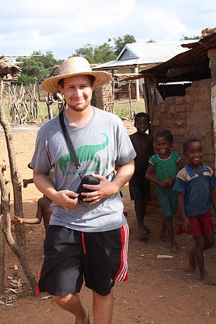 Stephan Waeber of Switzerland, WWF volunteer in Madagascar in 2013  	© WWF / Stephan Waeber