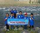 School children participated in patrolling along rivers