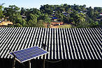 Solar panel on the roof of a house © Shutterstock / Twonix Studio / WWF