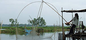 The That Luang Marsh in Lao PDR, which needs to be sustainably managed, is sharing its valuable ...  	© Noy Promsouvanh / WWF