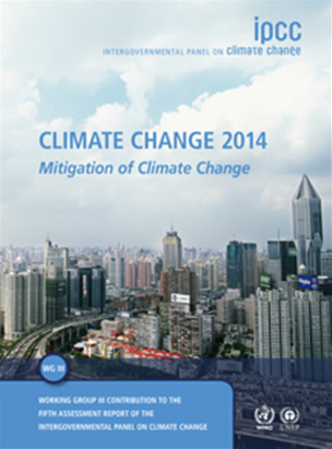 Climate Change 2014: Mitigation of climate change - IPCC Working Group III Contribution to AR5  	© IPCC