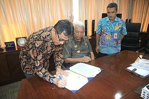 East Kalimantan, MoU signing, heart of borneo