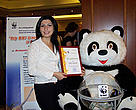 One of the winners of WWF Armenia's first environmental journalism contest.