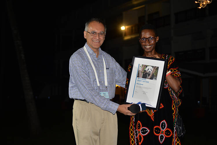 Monique Ntumngia announced as the International President's Youth award winner