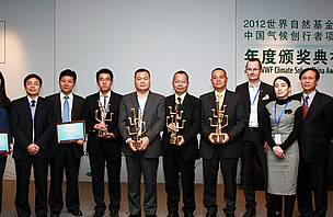 "Awards for Chinese ""Climate solvers"""