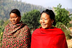 Women participants of Community Learning and Action Center (CLAC) in Jumdanda