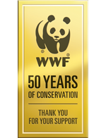Celebrating 50 years.  	© WWF