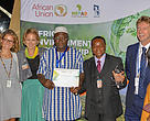 WWF receives environment recognition awards presented by NEPAD Agency, the technical body of the African Union in Nairobi, Kenya