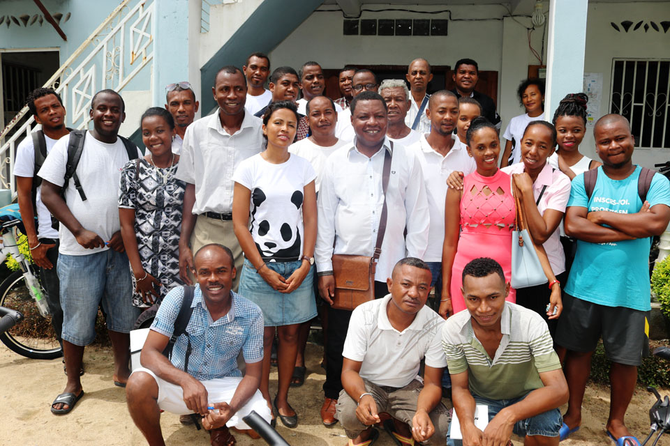 Collaboration entre WWF et l'ONG Roseda