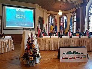 The Ministerial meeting at the Fifth Conference of the Parties of the Carpathian Convention in Lillafuered, Hungary, 2017