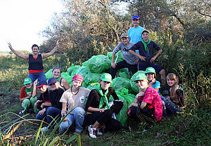 Danube Clean up 2011 (Ukraine)
