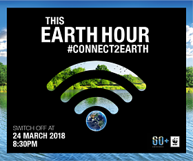 Connect to Earth sign  	© WWF