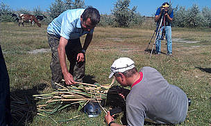 The second task of the expedition was to assess the biomass of the Ukrainian part of the Danube region, which can be used as a biofuel.