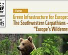 "Cover of Green Infrastructure for Europe: The Southwestern Carpathians – ""Europe's Wilderness"" factsheet"