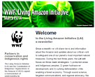 Cover Living Amazon Newsletter March 2014