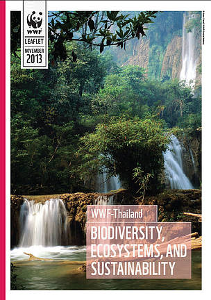 WWF-Thailand leaflet cover