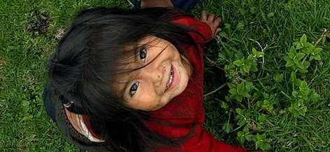 Kids at Altamachi Protected Area, Cochabamba, Bolivia (Pre-Andean Amazon). rel=