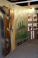 Stand at the 4th Bolivian Tropical Forest Trade Fair, Expoforest, in March, 2006, publicly ... / ©: WWF / Andrés UNTERLADSTAETTER