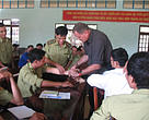 Yok Don National Park rangers learn new techniques to enhance their law enforcement capabilities during a WWF-VN training workshop.