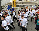 "WWF-Mongolia and students from the Law Enforcement University in Mongolia joined the international marathon running held on May 18, 2019 under a motto ""Let's Safeguard the Mongolian Saiga, only unique or endemic to Mongolia on the Earth""."