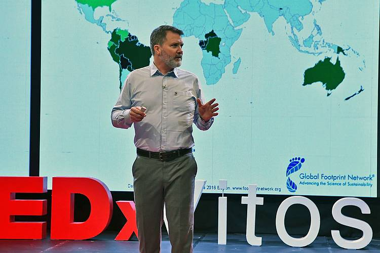 WWF-Bulgaria's Conservation Manager Iain Jackson at TEDxVitosha – You Don't Need Superpowers to Save the Earth