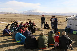 Giving people a voice in Mongolia