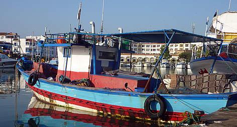 bateau de peche tunisie