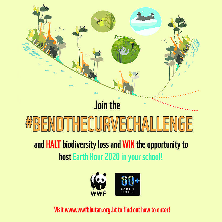 WWF Bhutan's Bend the Curve Challenge 2020 is open!