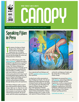 CANOPY (issue 2, 2018): biannual news from WWF Forest and Climate