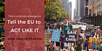 Want the EU to do more on climate? Now is your chance! You can help shape the EU's climate law.  © WWF EPO / Sarah Azau