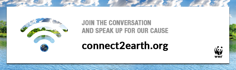 Connect2Earth promo banner  	© WWF