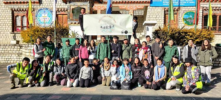 WWF Bhutan organizes first Environmental Education Camp