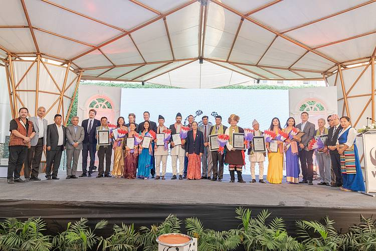 WWF Nepal recognizes grassroot conservationists and youth through its Conservation Awards and Memorial Scholarships