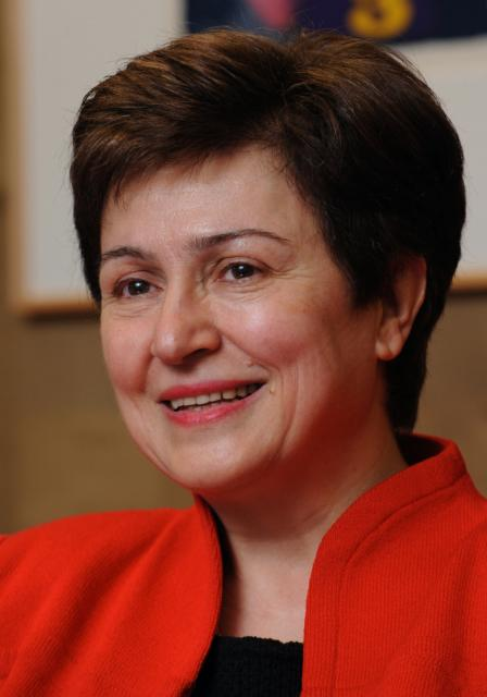 Kristalina Georgieva, Member of the EC in charge of International Cooperation, Humanitarian Aid and ... rel=