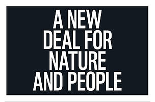 2020: A New Deal for Nature and People