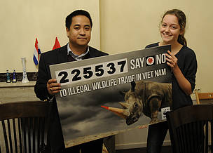 Global petition calls for Viet Nam to end illegal wildlife trade