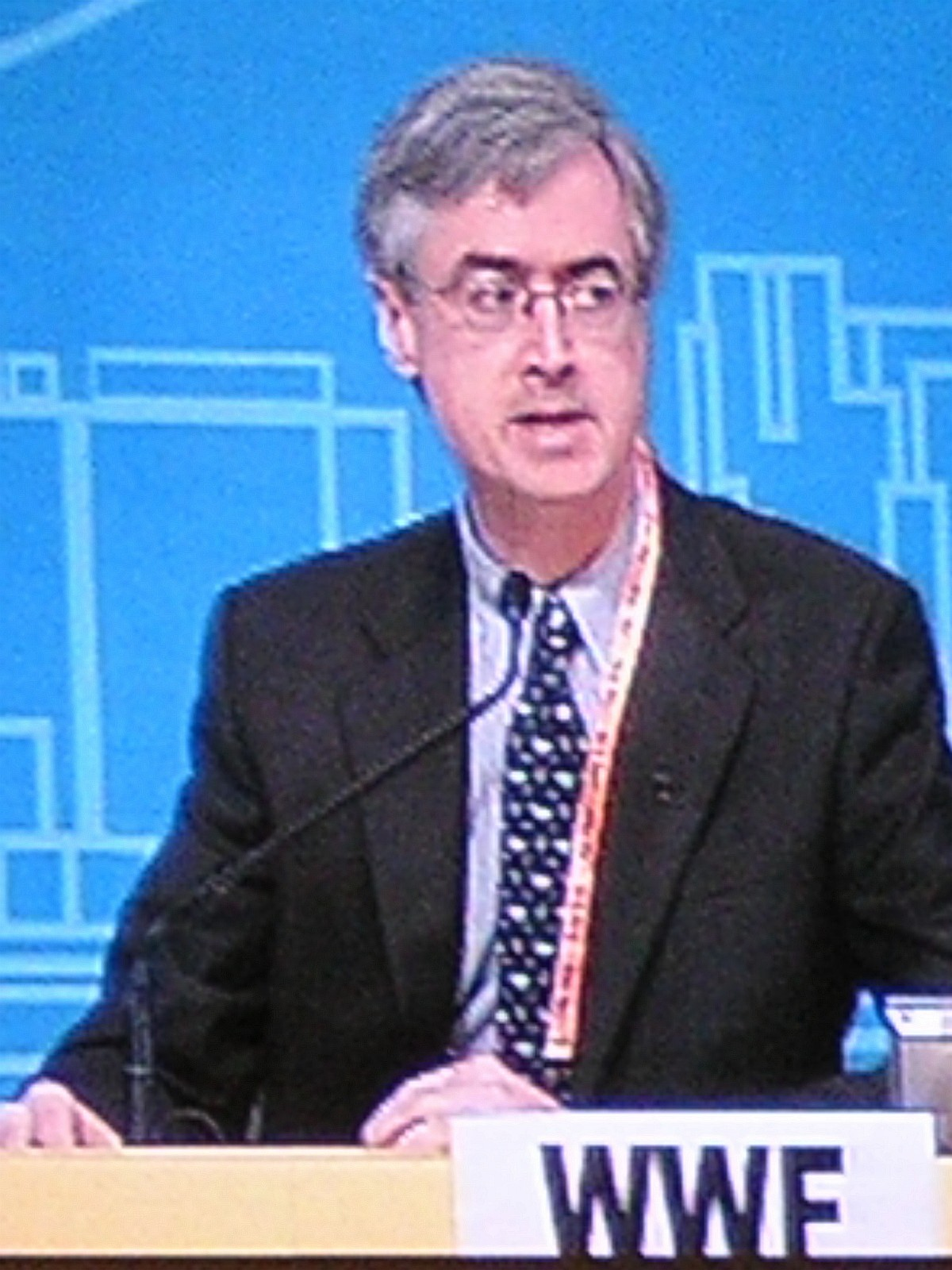 DG Jim Leape at the WTO Hong Kong Ministerial Conference