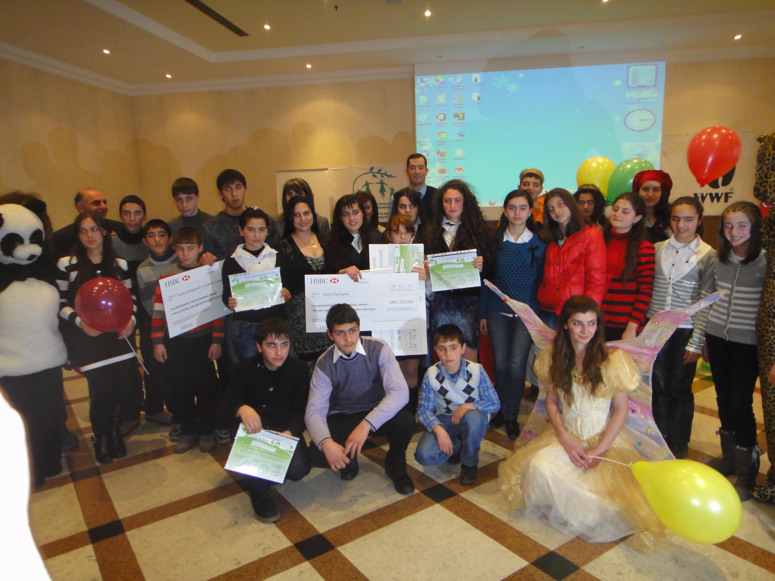 Young People of Armenia Turn 'Green' by Starting to Live