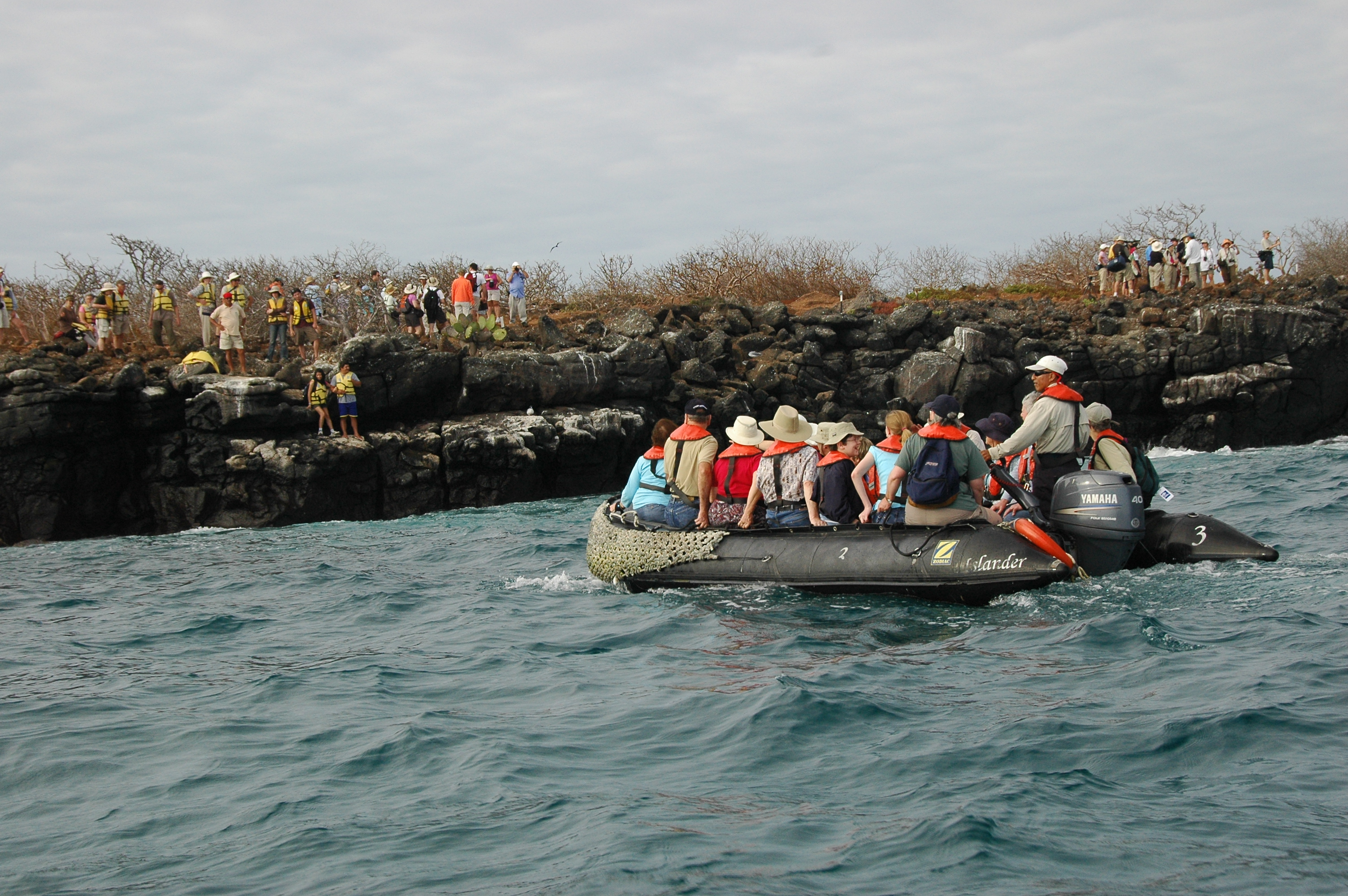 Ecotourism in the galapagos islands costa