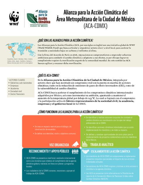 Alianza para la Acción Climática - CDMX