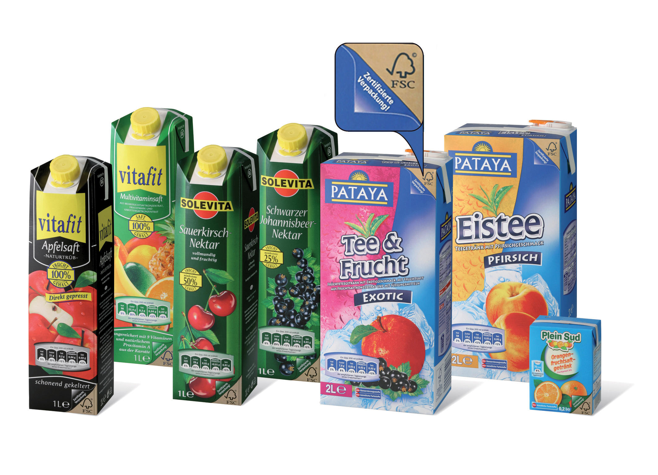 FSC labelled beverage cartons surge in Germany | WWF