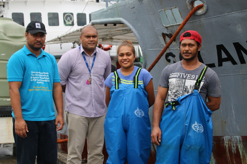 Young seafarer hopes to encourage more female seafarers | WWF