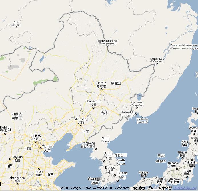 New ground for Amur Tigers in Northeast China   WWF on guitar map, ava map, katrina map, kobe map, kin map, korea map, uganda map, maya map,