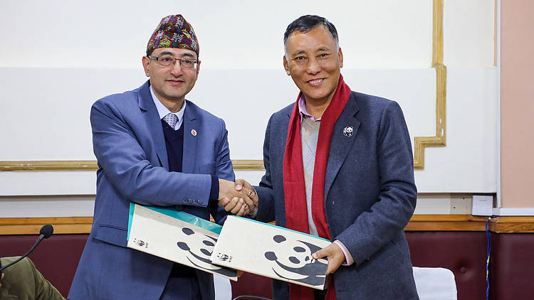 WWF Nepal and Nepal Academy of Science and Technology embark on 5-year partnership