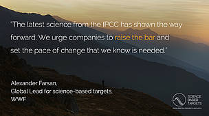 Science Based Targets Initiative Announces Major Updates