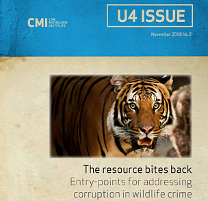 The resource bites back: Entry-points for addressing corruption in wildlife crime