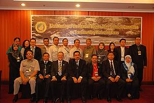 Attendees at the first meeting of the Heart of Borneo Joint Technical Committee on Transboundary ...      © WWF Indonesia