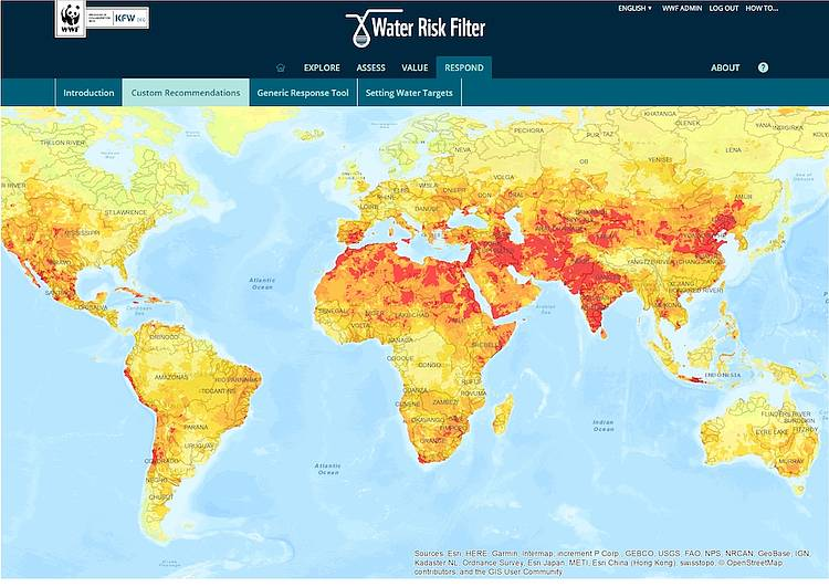 Upgraded Water Risk Filter will help companies respond to worsening water risks