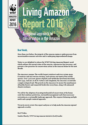 WWF Living Amazon Report 2016 Newsletter